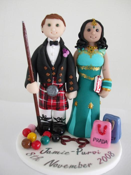 Cultural Cake Toppers Inter-cultural Cake Topper