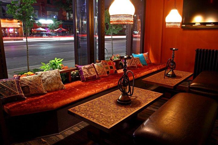 shisha cafe decoration